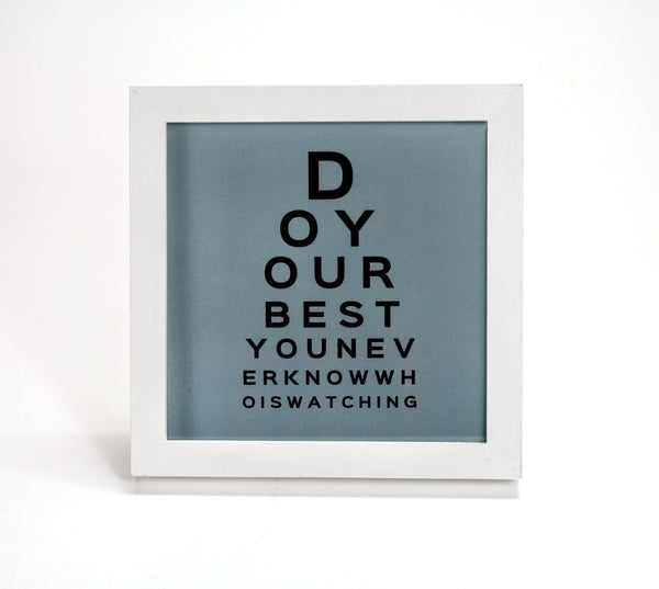 Merveilleux Do Your Best In Blue   Motivational Quote   Office Print And Frame