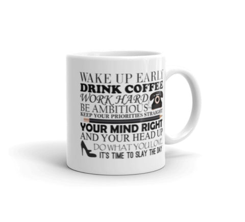 """Morning Motivation"" Mug"