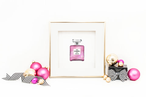 Chanel No. 5 Office Print and Frame