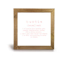 Hustle Definition - Office Print and Frame