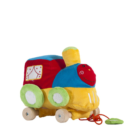 Train on the wheels /  Train sur les roues (25 cm)