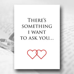 Two Hearts, One Promise – Marriage Proposal Card - Marriage Proposal Stationery - About to be Hitched - About to be Hitched