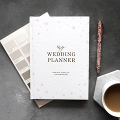 Luxury Starry Wedding Planner Book