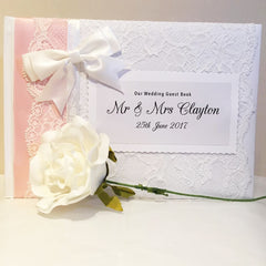 Personalised Guest Book (available in many colours) - Guest Books - Ahoy Designs - About to be Hitched