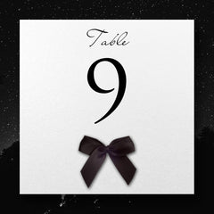 Exquisite - Table Number Cards - Table Name / Number - About to be Hitched - About to be Hitched