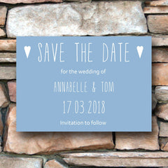 And then I met you (Airy Blue) - Save the date