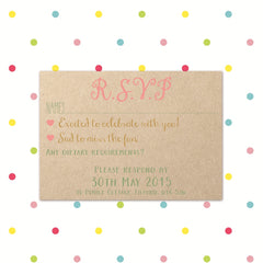 Banner of Love - RSVP - RSVP's - Forever Lasting Invites - About to be Hitched