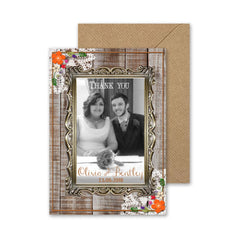 Barn Dance – Thank You Card - Thank You Card - Herta's Creative - About to be Hitched
