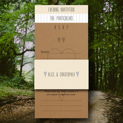 And Then I Met You - Wedding Invitation Pack (Evening Invite) - Wedding Invitation - About to be Hitched - About to be Hitched