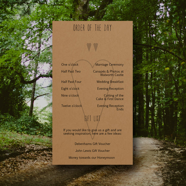 And Then I Met You - Wedding Invitation Pack (Day Invite) - Wedding Invitation - About to be Hitched - About to be Hitched