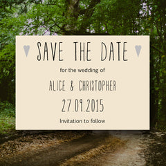 And Then I Met You - Save the Date Magnet - Save The Date - About to be Hitched - About to be Hitched