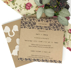 I Thee Wed - Evening Invite