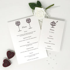 You Complete Me - Table Menu