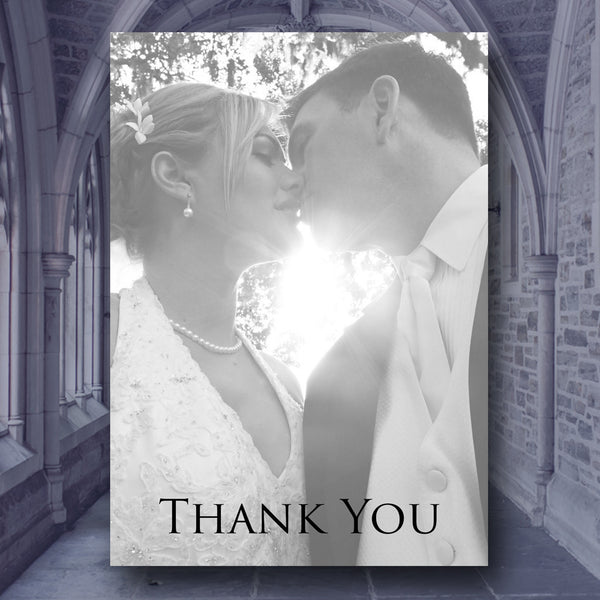 Serenity - Thank You Cards - Thank You Card - About to be Hitched - About to be Hitched
