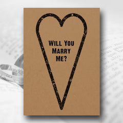 Love Me Tender – Marriage Proposal Card - Marriage Proposal Stationery - About to be Hitched - About to be Hitched