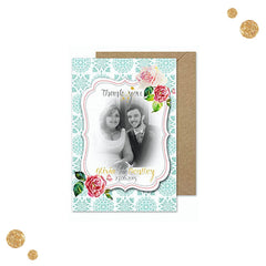 Bohemian Splendour – Thank You Card - Thank You Card - Herta's Creative - About to be Hitched