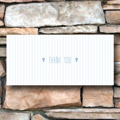 And then I met you (Airy Blue) – Thank You Card