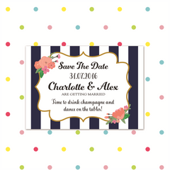 Sail away with me - Magnetic Save the Date - Save The Date - Forever Lasting Invites - About to be Hitched