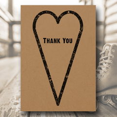 Love Me Tender - Thank You Card - Thank You Card - About to be Hitched - About to be Hitched