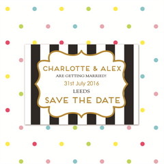 Simple Love - Magnetic Save the Date - Save The Date - Forever Lasting Invites - About to be Hitched