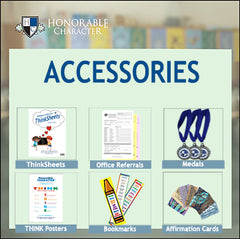 HONORABLE CHARACTER™ SUPPLEMENTAL PRODUCTS and ACCESSORIES