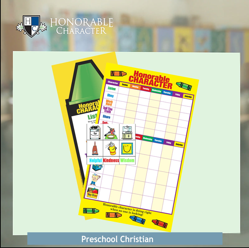 Preschool Christian Home Set