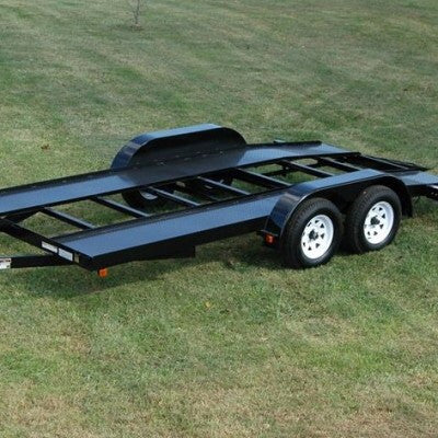 CAR HAULER TRAILER 16′ Welding Plans (Diamond Plate Deck ...