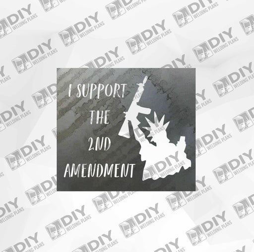 2nd Amendment Sign 14 DXF Plasma File