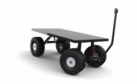 DIY Utility Cart CAD Welding Project Plans Full Suspension Build