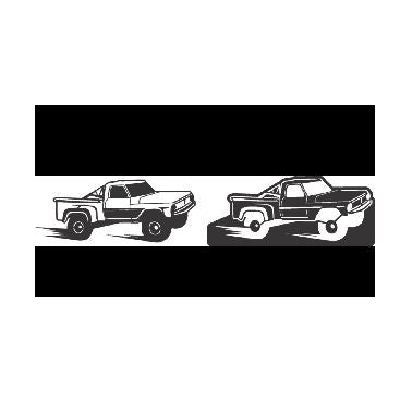 Trophy Truck 4x4 Truck 4wd Truck - DXF File Only
