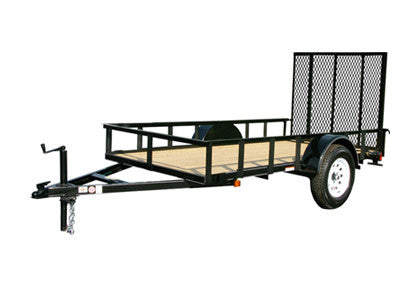 6x10 ft Utility Trailer Plans - Single Axle