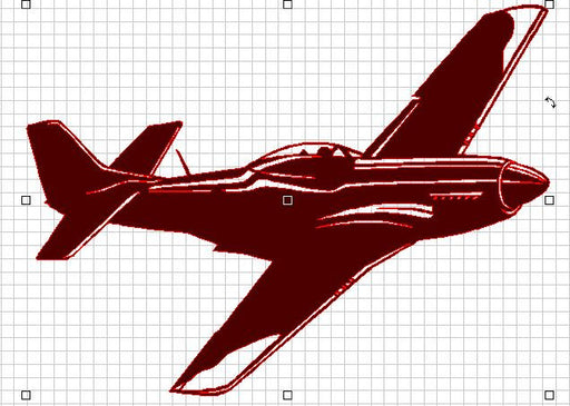 Airplane of Awesome - DXF File Only