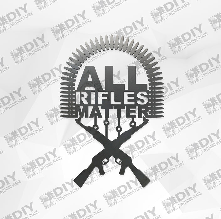 All Rifles Matter - DXF File Only