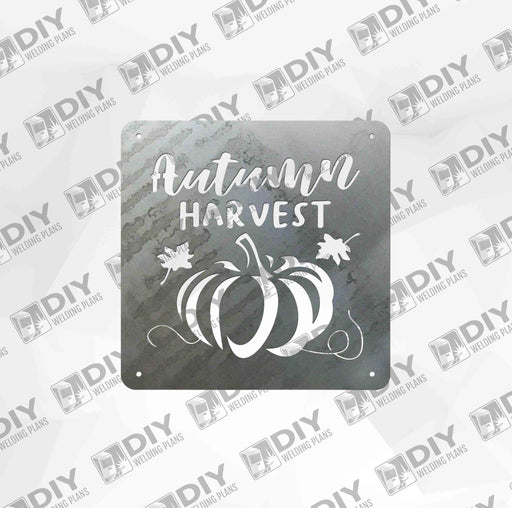 Autumn Harvest with Pumpkin - DXF File Only