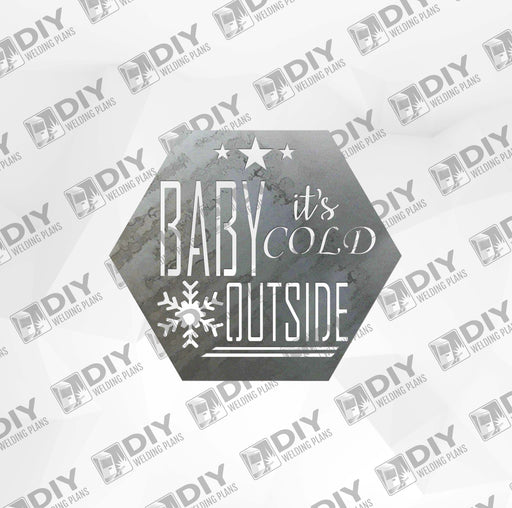 Baby It's Cold Outside DXF Plasma File