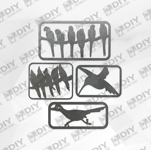 Bird Bundle Pack 1 - DXF File Only