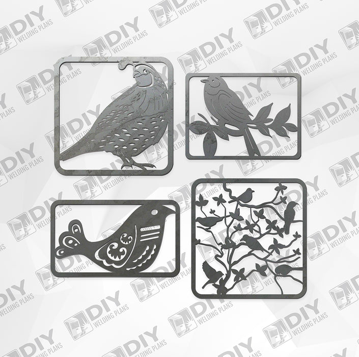 Bird Bundle Pack 3 - DXF File Only