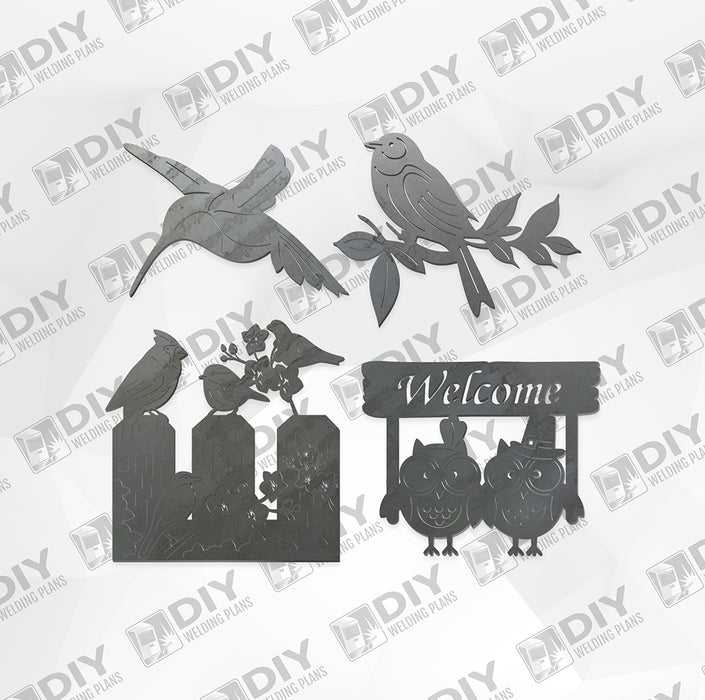Bird Bundle Pack 7 - DXF File Only