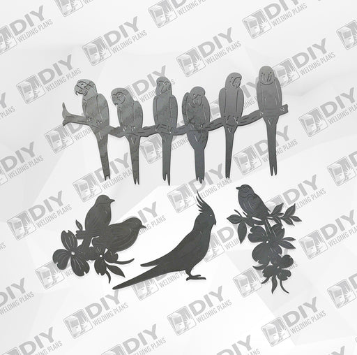 Bird Bundle Pack 8 - DXF File Only