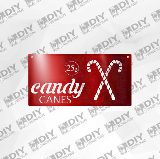 Candy Canes DXF Plasma File