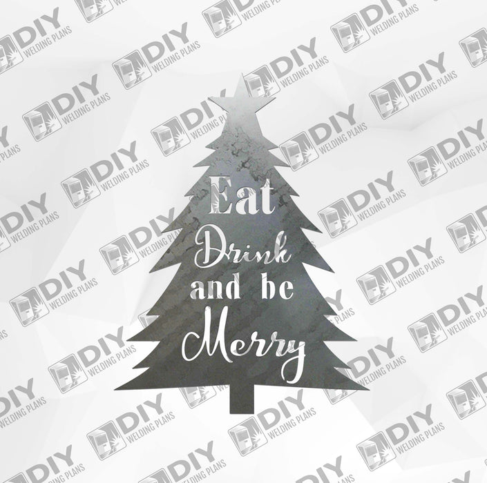 Eat Drink and Be Merry DXF Plasma File
