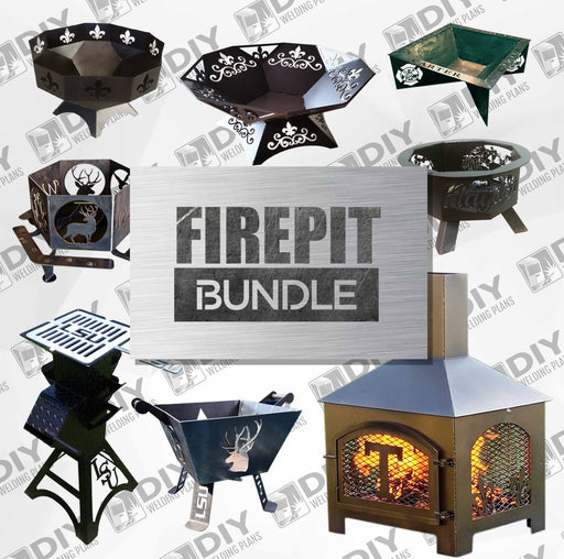Fire pit Bundle - DXF File Only