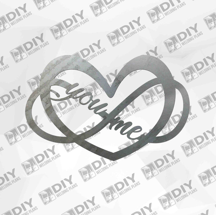 Forever You and Me - DXF File Only