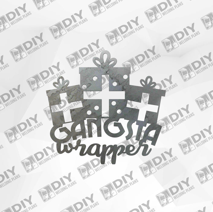 Gangsta Wrapper DXF Plasma File