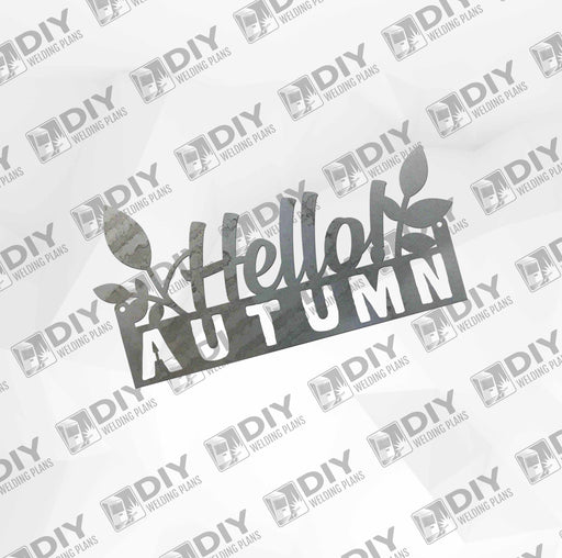 Hello Autumn  - DXF File Only