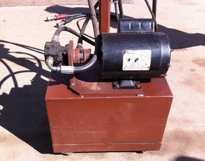 Hydraulic Power Unit Welding Plans