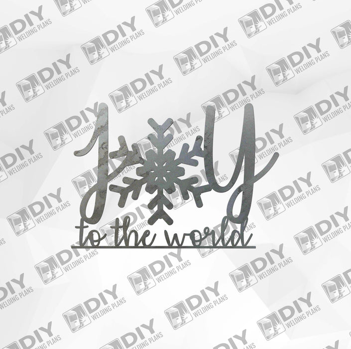 Joy To The World DXF Plasma File