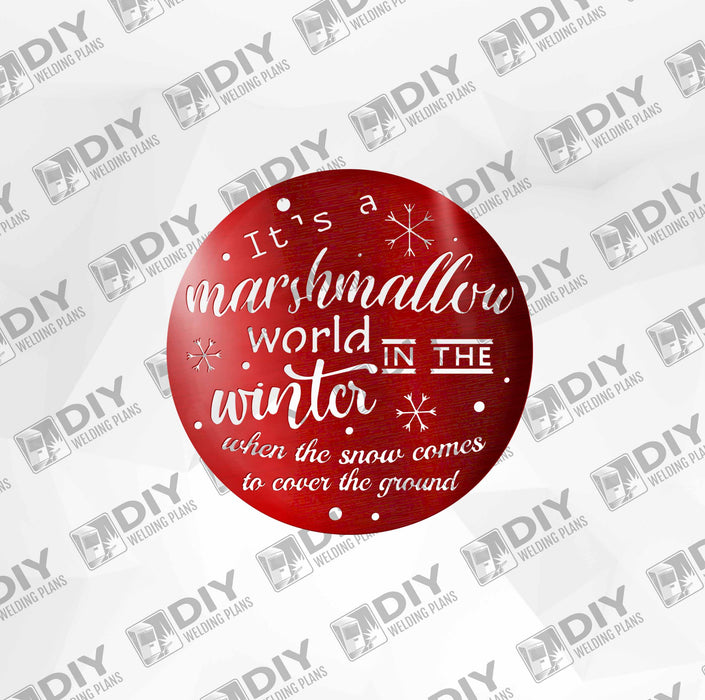 Marshmallow World DXF Plasma File