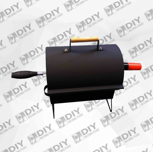 MINI BBQ GRILL & Rotisserie Welding Plans