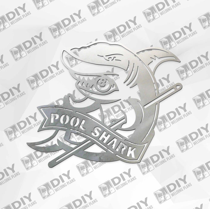 Pool Shark - DXF File Only